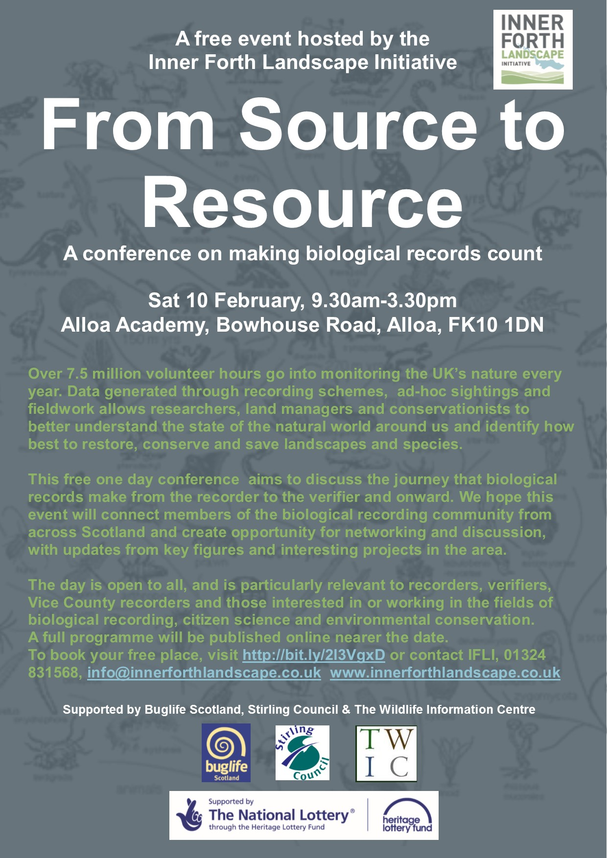 From Source to Resource conference flyer