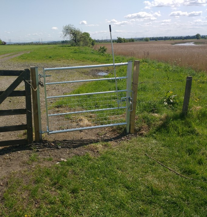 Inner Forth Inches 'After' - new gate installed
