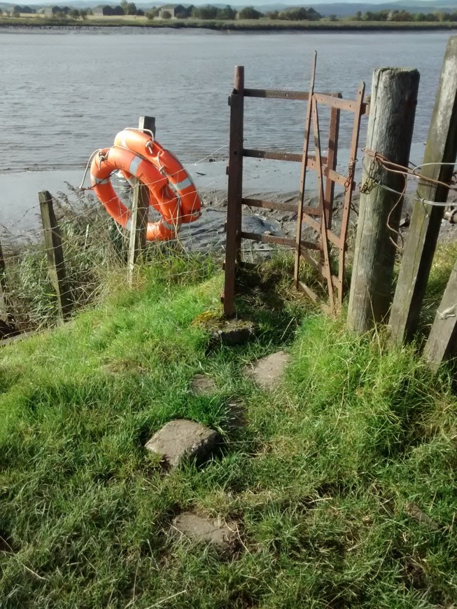 Inner Forth Inches 'Before' - existing gate